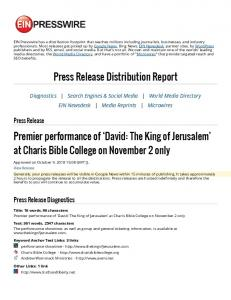 at Charis Bible College on November