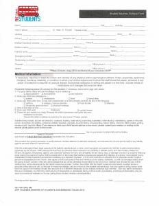 FBC Oxford Medical Form PAGE ONE