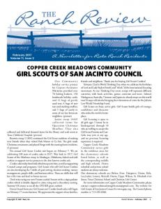 girl scouts of san jacinto council - DOCECITY.COM