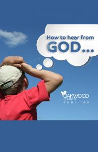 How to Hear from God Booklet