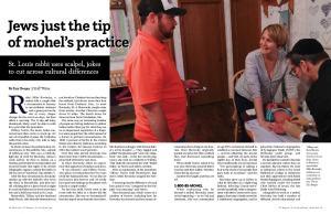 Jews just the tip of mohel's practice Jews just the tip