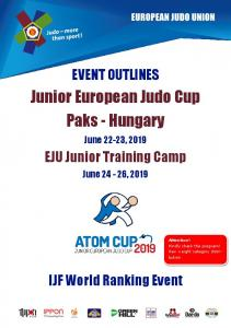 Junior European Judo Cup Paks - Hungary