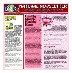 natural newsletter