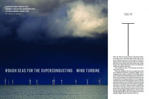 rough seas for the superconducting wind turbine