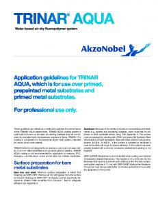 Surface preparation for bare metal substrates - Able Printing Company