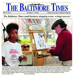 The Baltimore Times small business shopping event